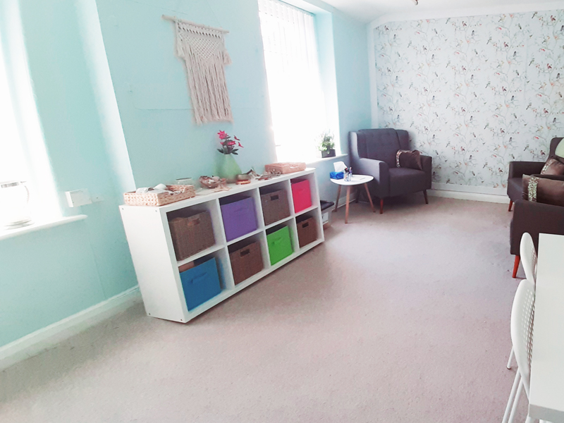 Bright and Fresh - Our New Counselling Space